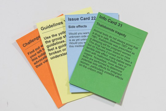 PlayDecide cards on Animal testing