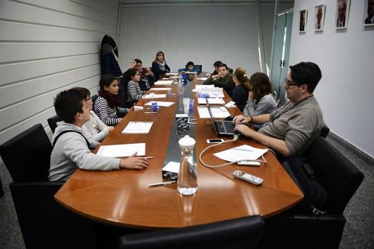 Meeting of the Children's Board of Museu de les Ciències Príncep Felipe, Valencia, Spain