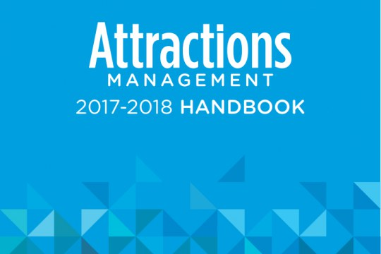 2017-2018 Attractions Management Handbook cover