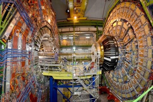 CMS detector at CERN. Photo: Ariane Koek