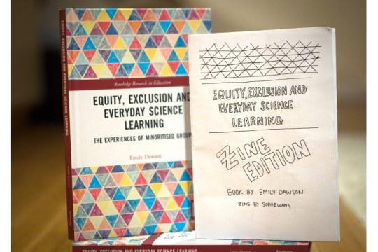 Emily Dawson's book and zine