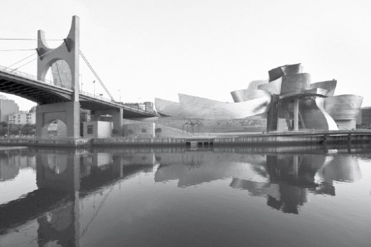 The Guggenheim Museum in Bilbao, Spain, designed by Canadian-American architect Frank Gehry. Photo Gugenheim Museum