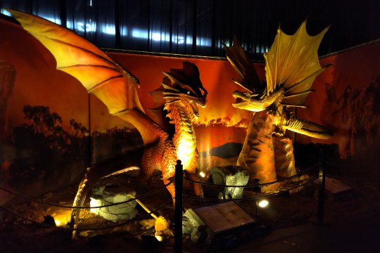 living dragons, world touring exhibitions