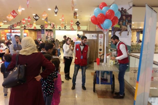 Activities organised for ISCSMD at Children's Museum, Jordan