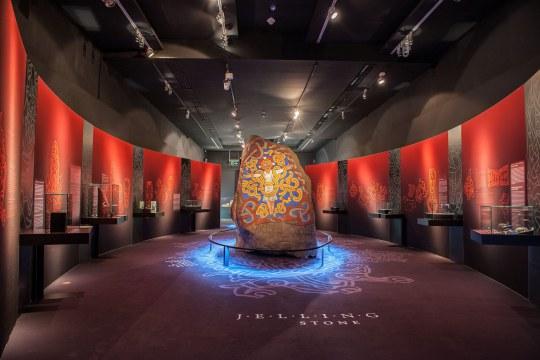 jelling stone replica