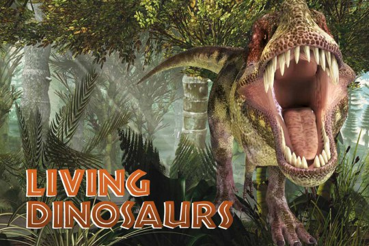 Living Dinosaurs exhibition animatronic