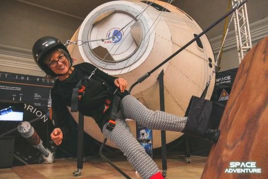 space adventure, world touring exhibitions, nasa