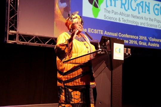 Elizabeth Rasekoala keynote speech at 2016 Ecsite Conference