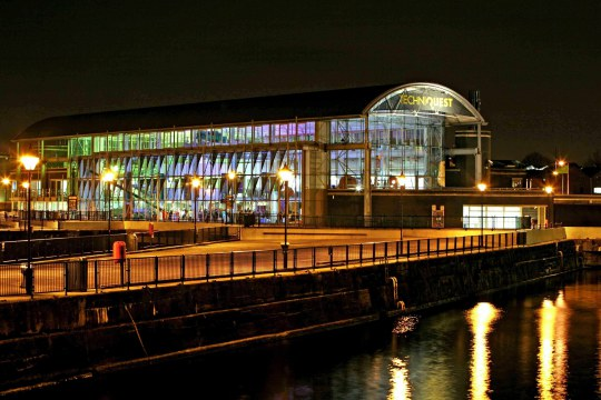 Techniquest was the first cultural institution in the development of Cardiff Harbour