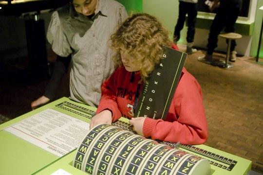 Exhibition Top Secret, Techmania Science Center, Pilsen